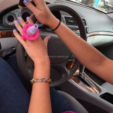Manicure Stand Silicone Nail Polish Bottle Holder