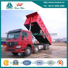SINOTRUK HOWO 12 Wheeler Fuel Consumption of Dump Truck Euro 3 for Algeria