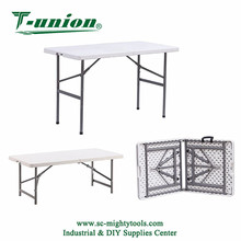 2018 High Quality 4FT Folding-half Table Fold in Half Table