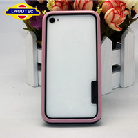 ULTRA SLIM RUBBER SOFT SILICONE GEL SKIN BUMPER TPU CASE FOR IPHONE4 4S
