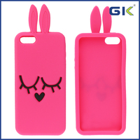 [GGIT] Cute Rabbit Ear Silicone Case Cover for iPhone 5