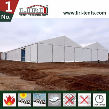 Large outdoor industriie aluminum frame warehouse tent for storage