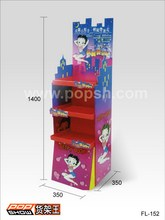 High quality customized craft store display fixture