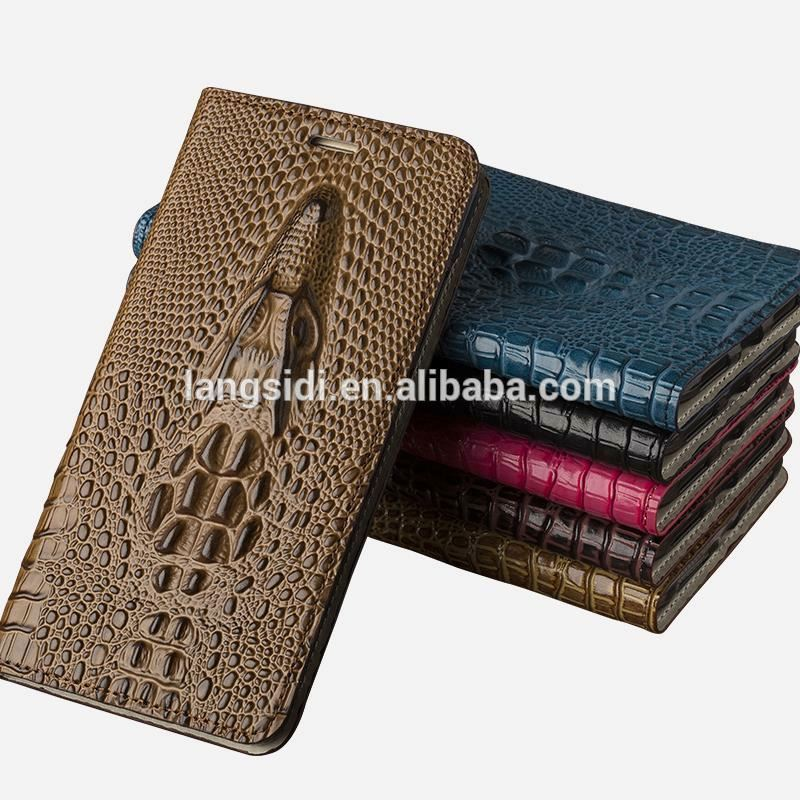 Wholesale Factory Genuine Leather Case For LG <strong>K10</strong> 3D Luxury Silicone Holster Cow Wallet Flip Cover