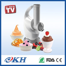 2017 High Quality Best hand crank ice cream maker home,portable fruit ice cream maker,mini home soft ice cream maker