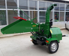 CE approved 22hp diesel wood chipper