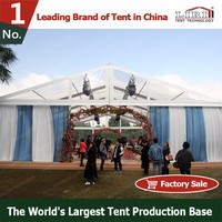 High Quality Outdoor PVC clear roof marquee wedding tent for Sale in China