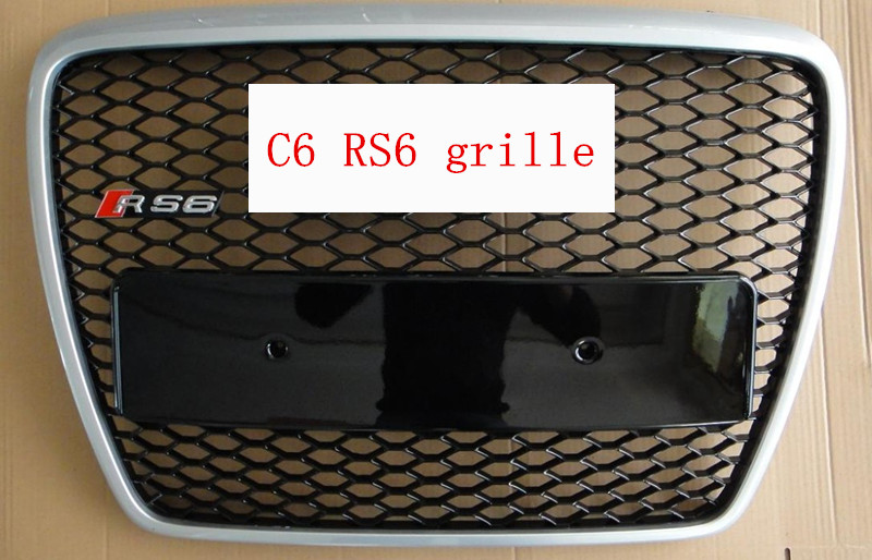for audi a6 c6 front grille for audi A6 RS6 grille