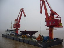 Offshore Ship Floating Crane For Coal Bulk Unloader