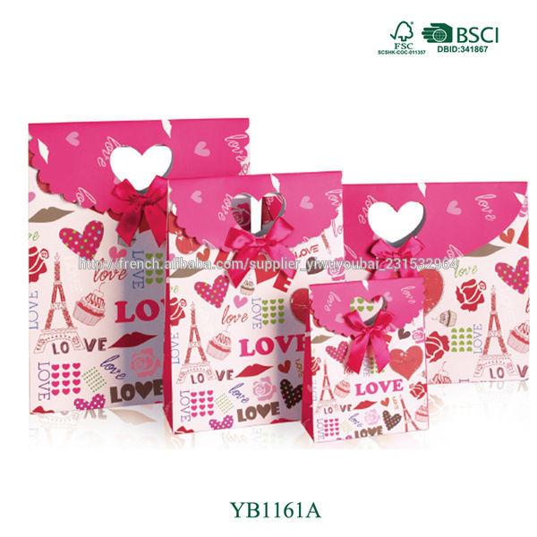 Emballage de cadeau pour paris boutique magasin sac en - Emballage cadeau original pour noel ...