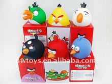 soft plastic toy bird/coin bank toys