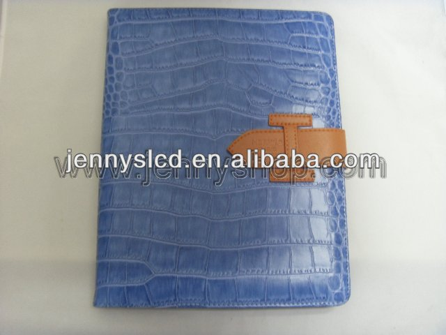 High quality hot selling leather case and cover for ipad