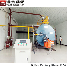 Wns Commercial Fire Tube Gas And Oil Fuel Fired Steam Boiler Used For Beer Brewery Wine Food Desinfection Industry