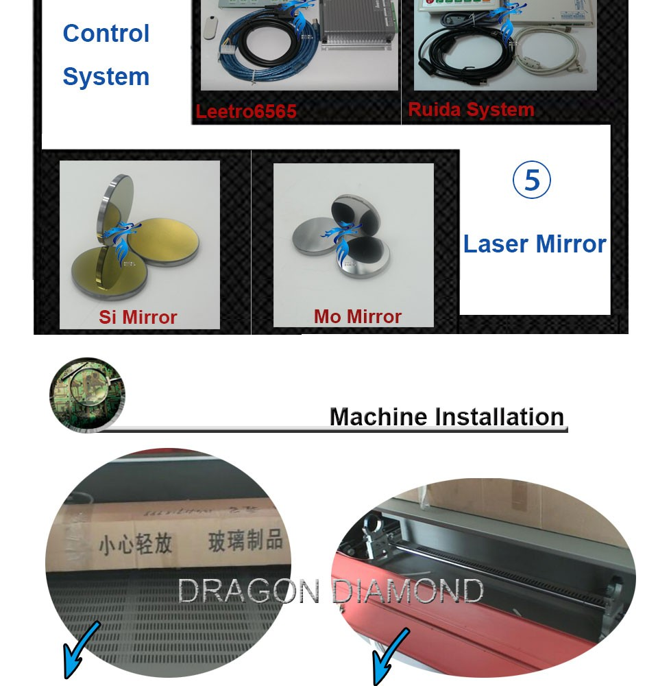 small format laser cutter for wood 5030 / mini cnc co2 laser machine with new type LZ-5030