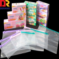 10*15cm Clear Self Adhesive Seal Plastic Bags zipper packing bags