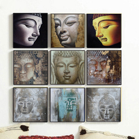 Wall art decor modern art buddha abstract canvas painting shu166