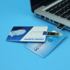 Hot promotional Credit card model USB 2.0 Memory Stick Flash pen Drive 8GB 16GB 32GB