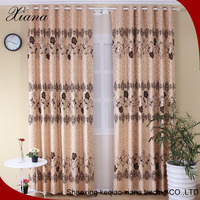 Keqiao Traditional Polyester Flocked Curtain Fabric,Wholesale Flocking Fabric