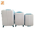 Cheap ABS White Luggage Sets Hard Case Luggage