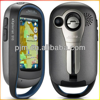 MAGELLAN eXplorist 110 310 510 610 big size touch screen 1-3 meter accuracy outdoor handheld gps