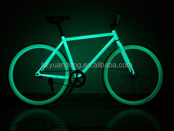 700C Glow In The Dark Bicycle Fixed Gear Road Bike Factory