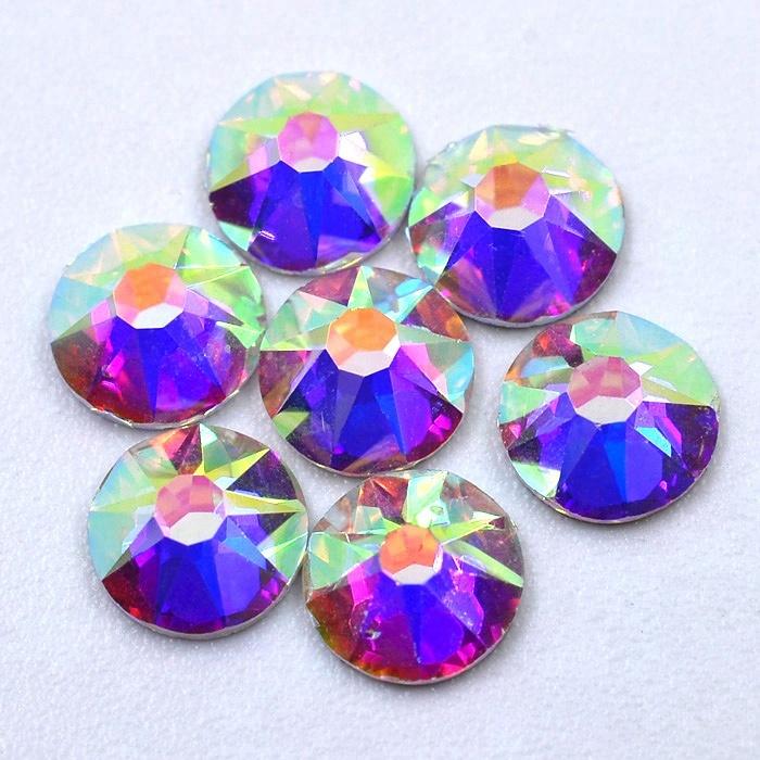 Free Shipping Enhanced Quality Grade Crystal Ab Hot Fix Rhinestones ... f381c7a1ea6f