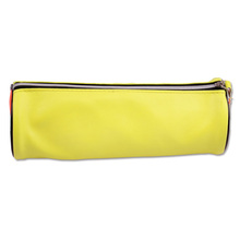 INTERWELL BXK50 Yellow Cylindrical School Pencil Case Custom Promotional