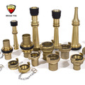 Factory directly Fire fighting spray nozzle with brass material
