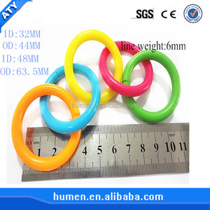 lovely eco-friendly Snap children's toy Plastic ring