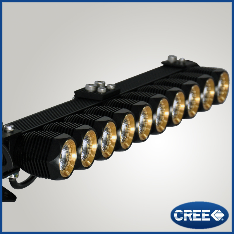 Manufacturer price high bright led light bars for jeep grand cherokee off road 126w with cree chip