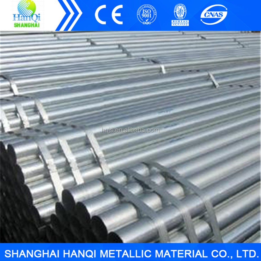 High Quality Zinc Coated Steel Tube galvanized steel pipe price