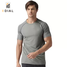 Fashion Design Clothing Short Sleeve GYM Dry Fit Compression T Shirts For Men