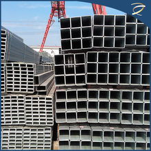 HOT dipped galvanized steel square tube mild steel tube internal thread