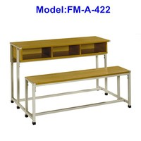 No.FM-A-422 Free standing school desk with chair
