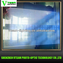2013 New Innovation P12.5 outdoor Transparent Led Screen
