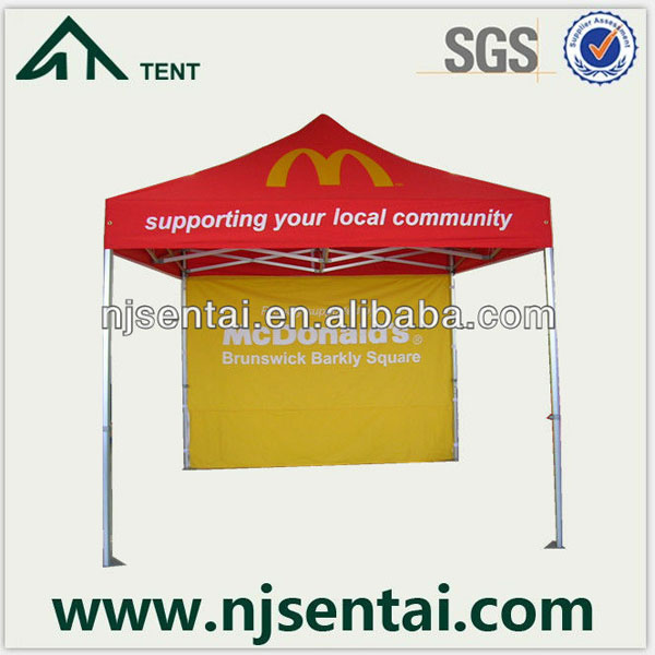 3x3M High Quality Aluminum folding tent with 40mm & 50mm Hexagonal Leg