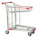 medium duty hand push trolley cart warehouse and supermarket