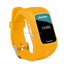 Hi-tech Real Time GPS GSM/GPRS Tracker Global Security Tracking Monitoring Kids Locator wrist watch
