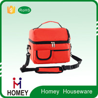 High quality folding lunch cold storage insulated cheaper picnic food storage bag Beer cooler bag