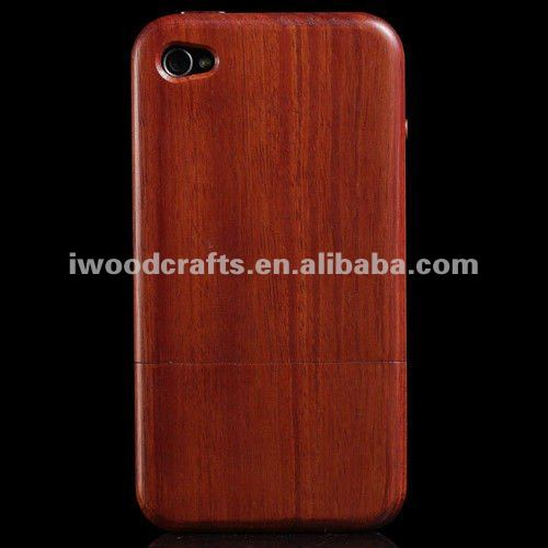 for iPhone 4 Engraved Wooden Case