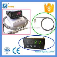 universal temperature controller gauge with EGT probe sheath
