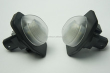 Replacement car bulbs plate light ,auto license plate light,license plate led lamp for toyota