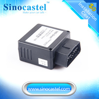Real-Time Tracking IDD-213E/N 3G OBD GPS Smart Locator Support J1939 AND J1708 Protocol Produced From SINOCASTEL CO.,LTD