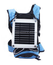back pack solar charger High Efficency Semi-flexible Solar Panel 5W emergency power for iphone powerbank etc.