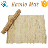natural ramie china supplier handwoven high quality table mat