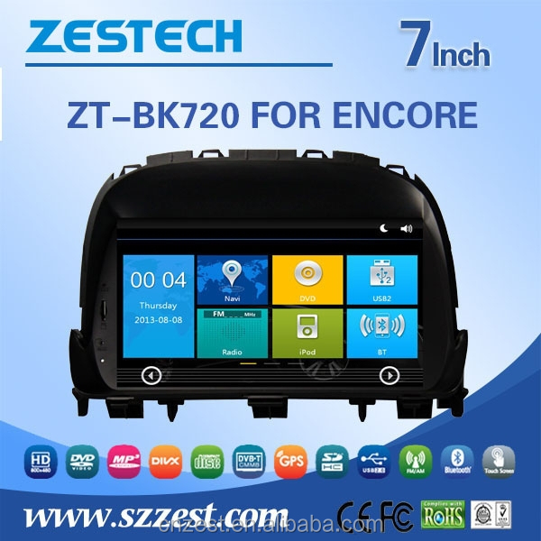 for Buick Encore partes de autos with dvd gps navigation made in china