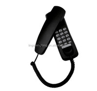 Trimline Analog Telephone, Wall Mountable Corded Phone
