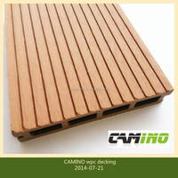 Camino teak colour hot sell 150x25 wpc floor panel