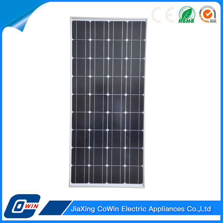 China130W A Grade Poly Monocrystalline Solar Panel For Outdoor