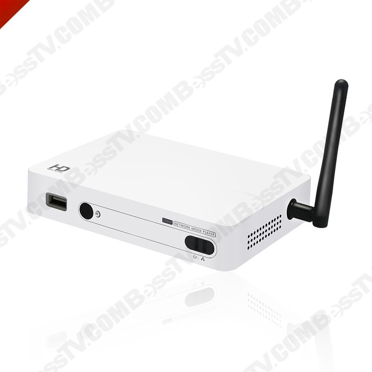 Alibaba hot selling iptv box arabic iptv hd100c Media player
